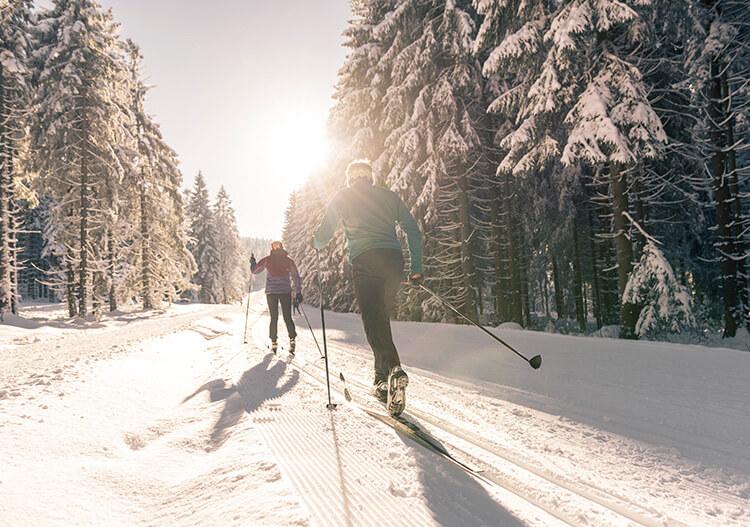 Langlaufen © OÖ Tourismus - David Lugmayr