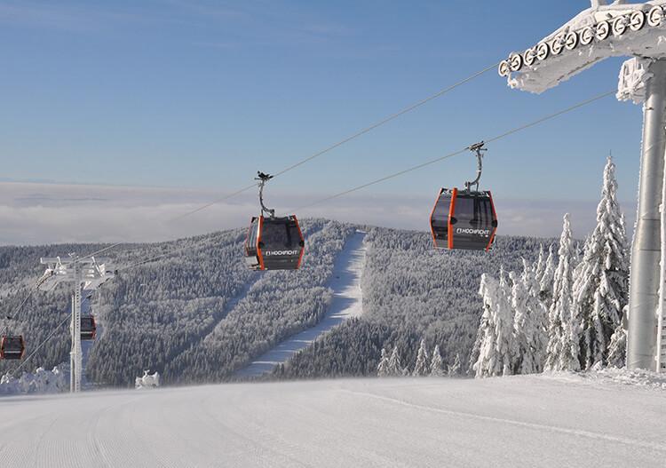 Schifahren & Snowboarden © Böhmerwald Tourismus