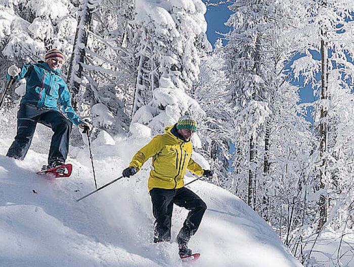 Schneeschuhwandern © OÖ Tourismus - David Lugmayr